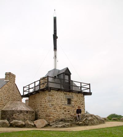 l'Histoire se répète: de Chappe Telegraph in Saint-Marcan